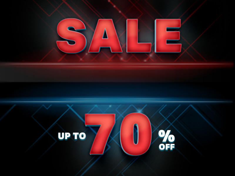 SALE- up to 70%
