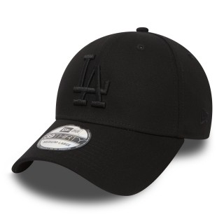 NEW ERA kapa 39THIRTY LEAGUE BASIC LA BLACK/BLACK