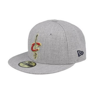 NEW ERA šilterica NBA HEATHER FITTED CLECAV GRA
